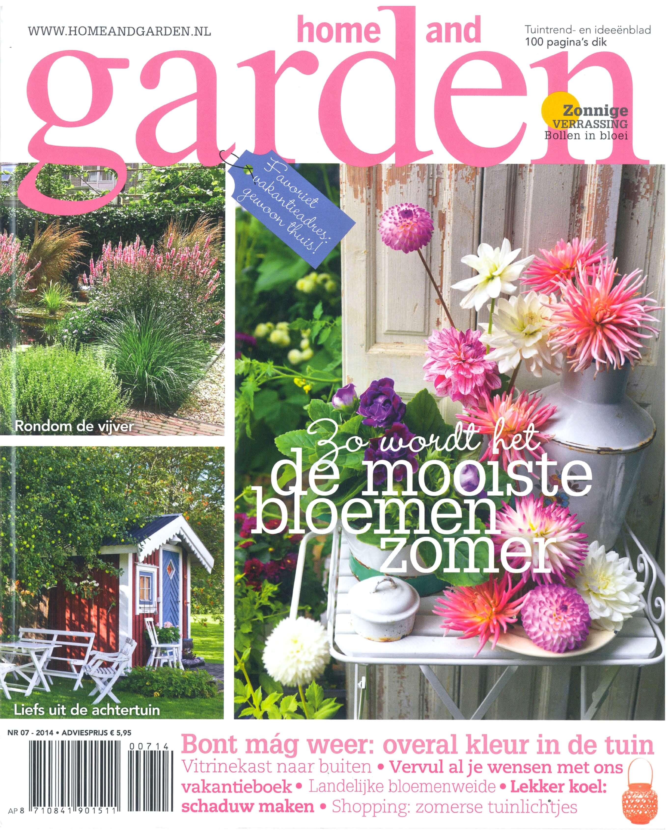 Media :Home and Garden nr7 2014